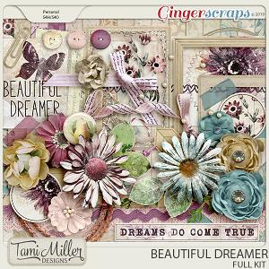 Beautiful Dreamer Full Kit by Tami Miller Designs