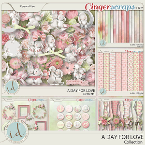 A Day For Love Collection by Ilonka's Designs