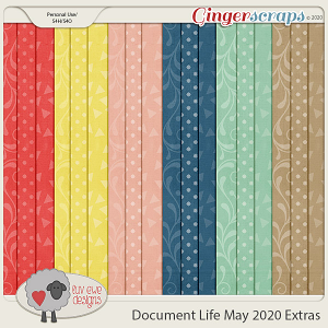 Document Life May 2020 Extra Papers by Luv Ewe Designs