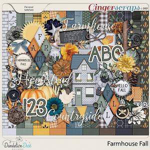 Farmhouse Fall by Dandelion Dust Designs