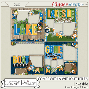 Lakeside - Quick Pages by Connie Prince