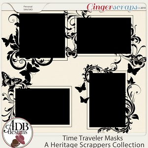 Time Traveler Masks by ADB Designs