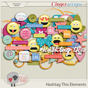 Hashtag This Elements by Luv Ewe Designs