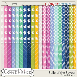 Belle of the Bayou - Extra Papers by Connie Prince