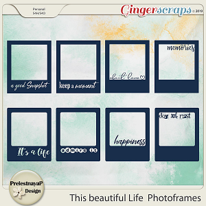 This beautiful Life Photoframes