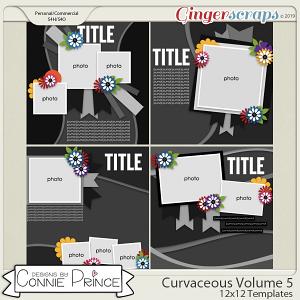 Curvaceous Volume 5 - 12x12 Temps (CU Ok) by Connie Prince
