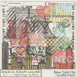 New York City (graffiti pack)