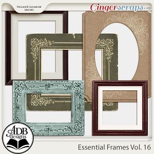 Essential Frames Vol 16 by ADB Designs