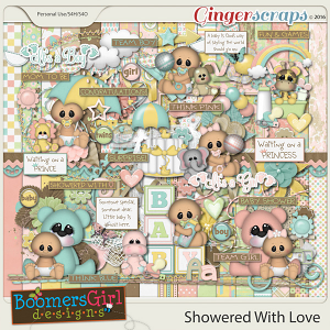 Showered With Love by BoomersGirl Designs