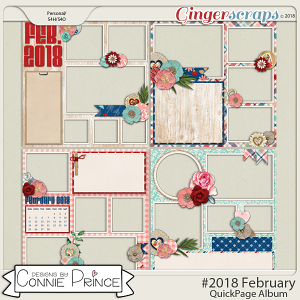 #2018 February - Quick Pages by Connie Prince