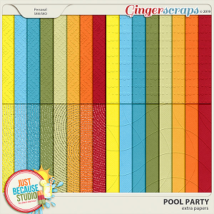 Pool Party Extra Papers by JB Studio