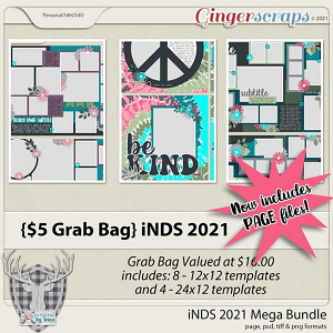 $5 Grab Bag by Dear Friends Designs by Trina - NOW WITH PAGE FILES!