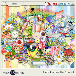 Here Comes the Sun Kit by Karen Schulz