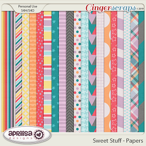 Sweet Stuff - Papers by Aprilisa Designs