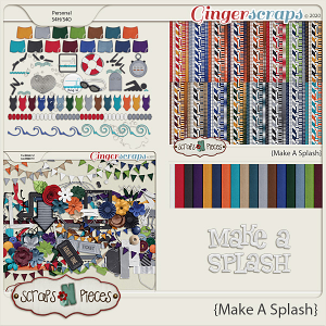 Make A Splash Bundled Kit - Scraps N Pieces