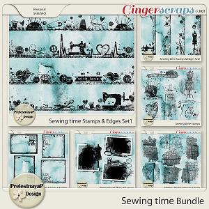 Sewing time Masks & Stamps Bundle