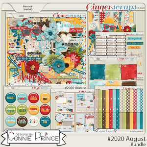 #2020 August - Bundle Collection by Connie Prince