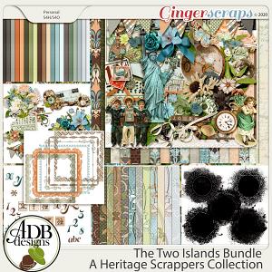 The Two Islands Bundle by ADB Designs