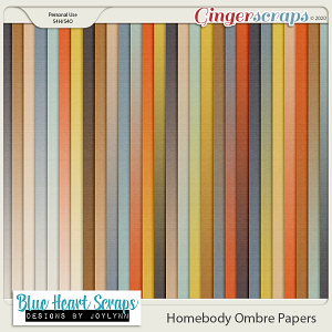 Homebody Ombre Papers