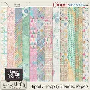 Hippity Hoppity Blended Papers by Aimee Harrison and Tami Miller