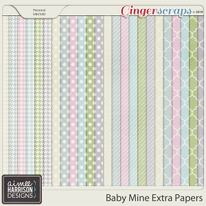 Baby Mine Extra Papers by Aimee Harrison