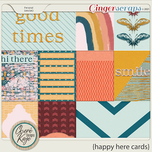 Happy Here Cards by Chere Kaye Designs