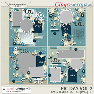 Pic Day - Templates VOL-2 - by Neia Scraps