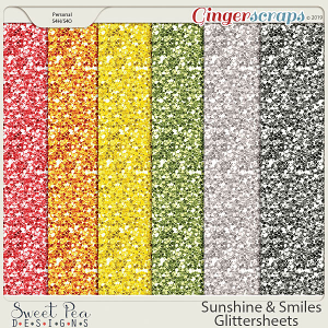 Sunshine and Smiles Glittersheets