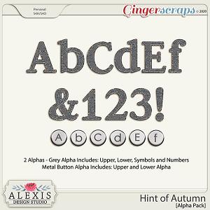 Hint of Autumn - Alphas