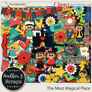 The Most Magical Place KIT by Heather Z Scraps