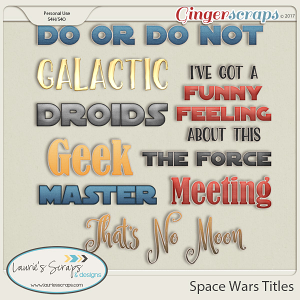 Space Wars Titles