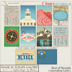 Best of Nevada (journaling cards)