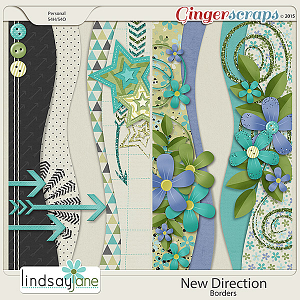New Direction Borders by Lindsay Jane