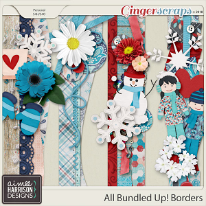 All Bundled Up Borders by Aimee Harrison