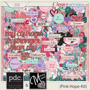 Pink Hope by Memory Mosaic and Polka Dot Chicks