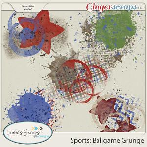 Sports: Ballgame Grunge