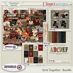 Stick Together - Bundle by Aprilisa Designs