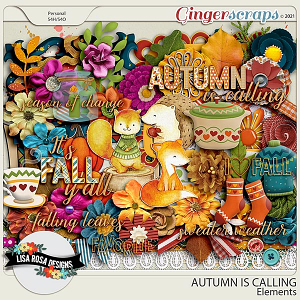 Autumn is Calling - Elements by Lisa Rosa Designs