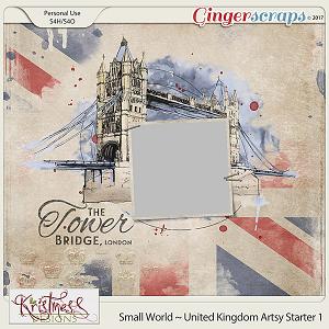 Small World ~ UK Artsy Starter 1