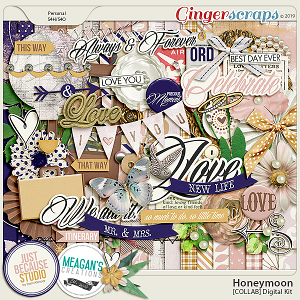 Honeymoon Digital Kit by JB Studio and Meagan's Creations
