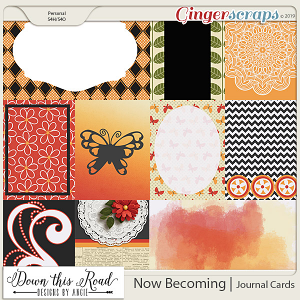 Now Becoming | Journal Cards