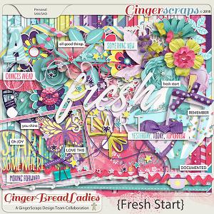 GingerBread Ladies Collab: Fresh Start 2018