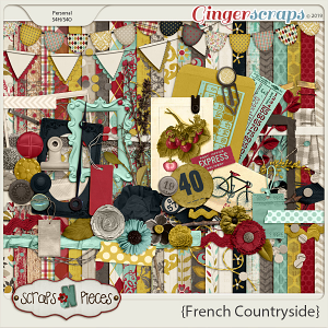 French Countryside Kit - Scraps N Pieces