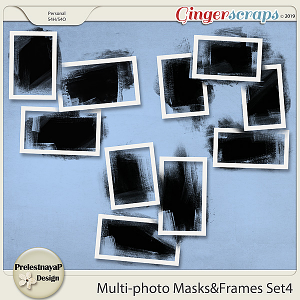 Multi-photo Masks&Frames Set4