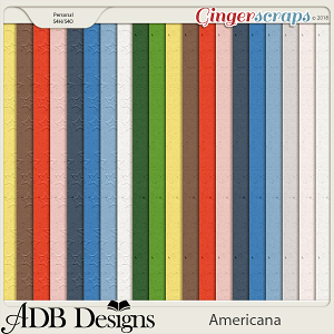 Americana Solids by ADB Designs
