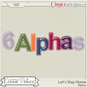 Let's Stay Home - Alpha Pack AddOn by Connie Prince