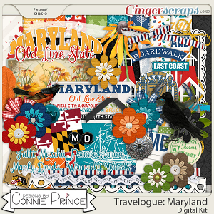 Travelogue Maryland - Kit by Connie Prince