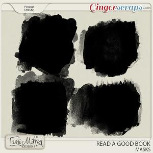 Read A Good Book Masks