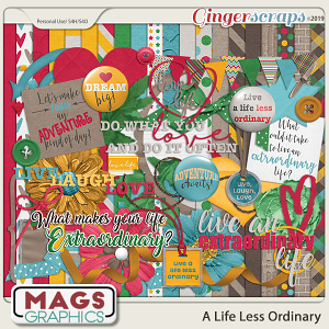 A Life Less Ordinary KIT by MagsGraphics