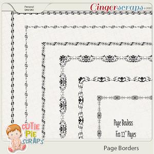 Page Borders 48 By Cutie Pie Scraps